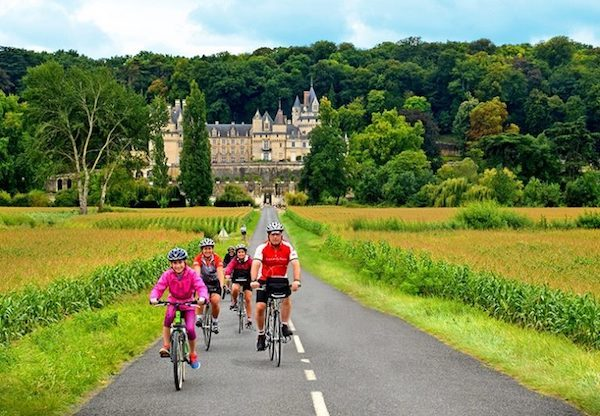 Family travel by bicycle with Backroads in the Loire Valley of France
