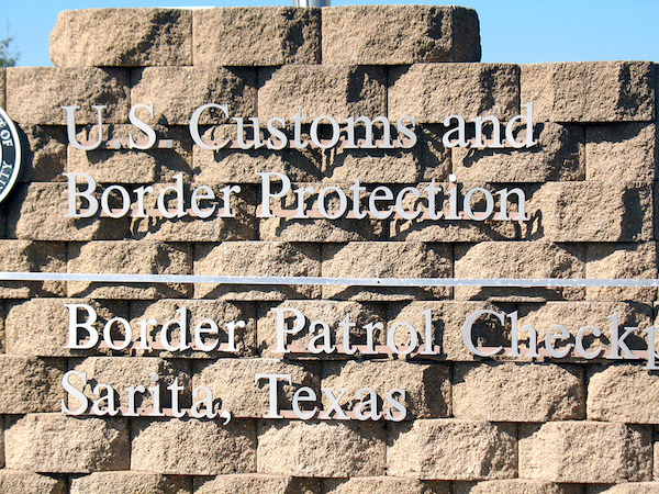U.S. Customs and Border Protection Station. Just how far should we go to protect U.S. security. Some think farther than others.